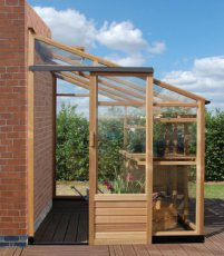 Royal Well New Classic Lean-To 086 + Fundering - 194cm x 241cm