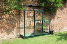 Royal Well Wall Garden 62 Lean-To, groen gecoat - 194cm x 69cm (tuindersglas 3mm)