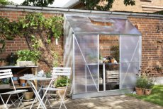 Royal Well Mini 3 Lean-To - 192cm x 66cm (polycarbonaat 4mm)